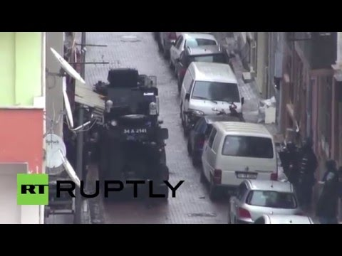 Turkey: Police storm building where Istanbul attackers holed themselves up