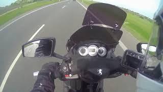 Peugeot Satelis 125 - Max Speed  GPS