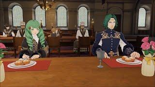 Fire Emblem: Three Houses - Unique Dining Hall Dialogue