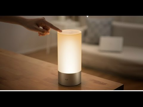 Xiaomi Yeelight Indoor Night Light Dimmable Bed Lamp 16 Million Rgb Touch Control