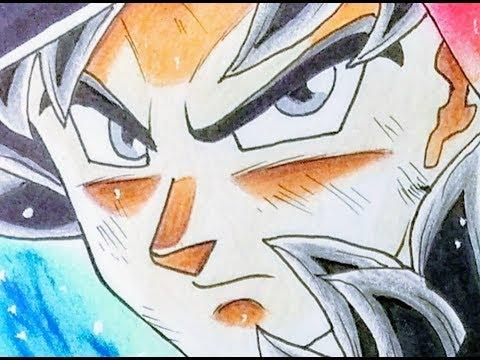 Drawing goku ultra instinct dragon ball super 400 sub special 2 youtube - Goku ultra instinct sketch ...