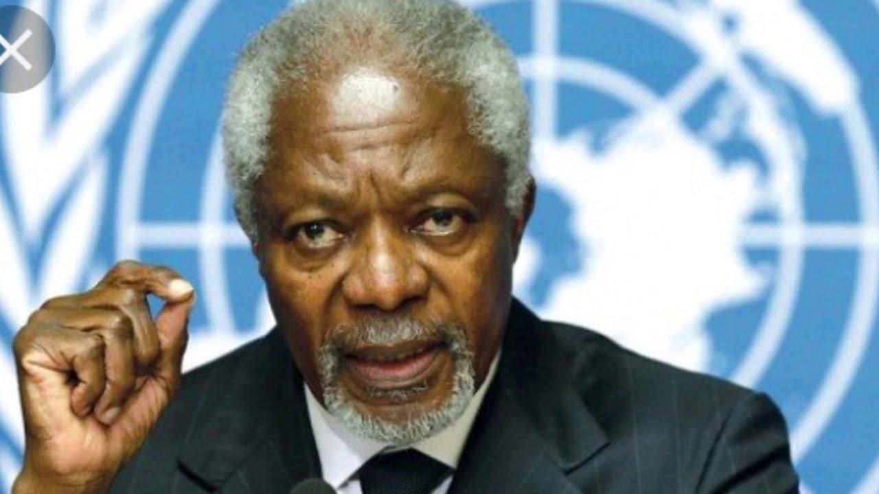 Kofi Annan Passes Away World Mourns