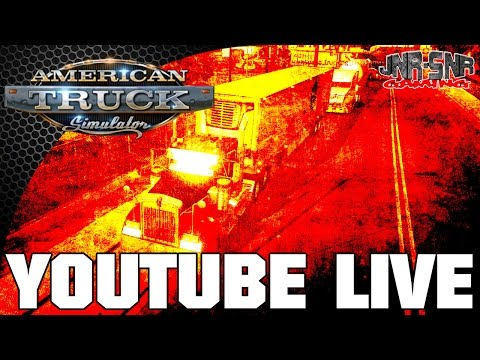 AMERICAN TRUCK SIMULATOR Multiplayer | Tucson Race Track and Convoy