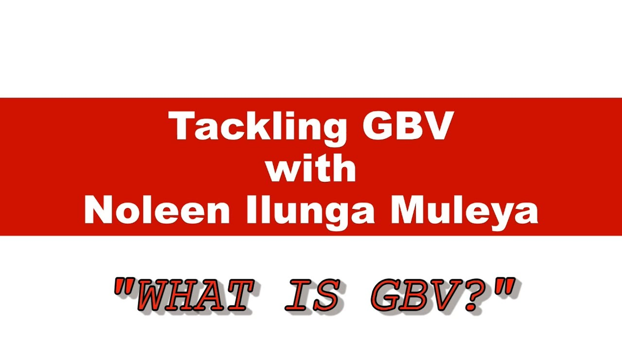 What is GBV?....Tackling GBV with Noleen Ilunga Muleya and Warren Ho