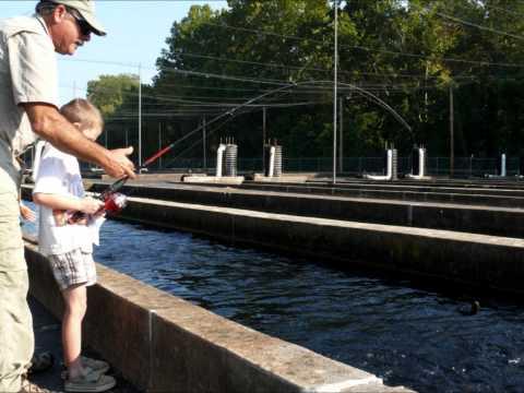 Norfork National Fish Hatchery ~ 2013 Kids Hatchery Outdoor Adventures