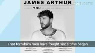 James athur ft Travis barker - You ( Lyrics )