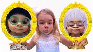 Anabella si oglinzile magice !! Istorioara pentru copii