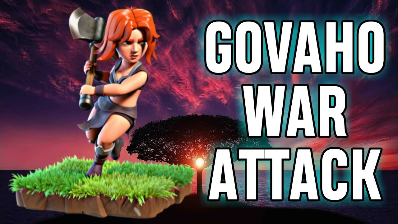 Download TH9 GoVaHo (Golem + Valkyrie + Hog Rider) War Attack Strategy | Part 6 | Clash of Clans