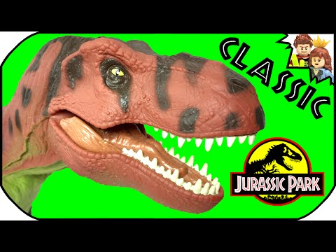 Jurassic Park Tyrannosaurus Rex Electronic 1993 Classic Kenner Toy Review