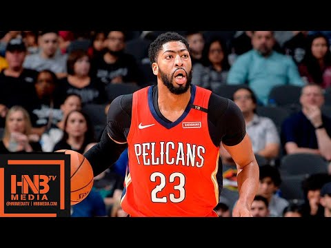 San Antonio Spurs vs New Orleans Pelicans Full Game Highlights | 11.03.2018, NBA Season