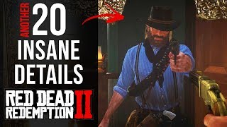 Another 20 INSANE Details in Red Dead Redemption 2 (Part 3)