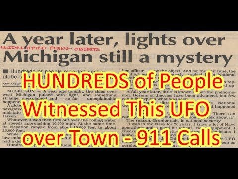 1994 Holland County UFO Incident 911 & Radar Chat - OT Channel Special Episode#12 (19Jul2017)