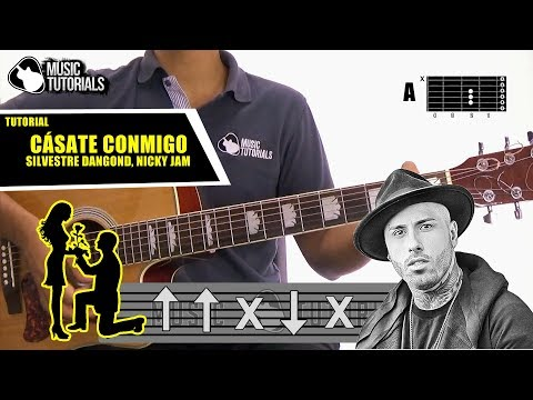 Cómo tocar Cásate Conmigo de Silvestre Dangond Ft Nicky Jam en Guitarra | Tutorial + PDF GRATIS