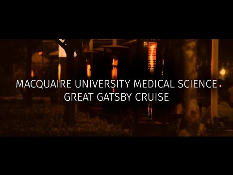 Macquarie University | Medical Science Great Gatsby Cruise | King Street Wharf