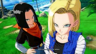 Dragon Ball FighterZ: All Android 18s Special Quotes Intro & Victory outro