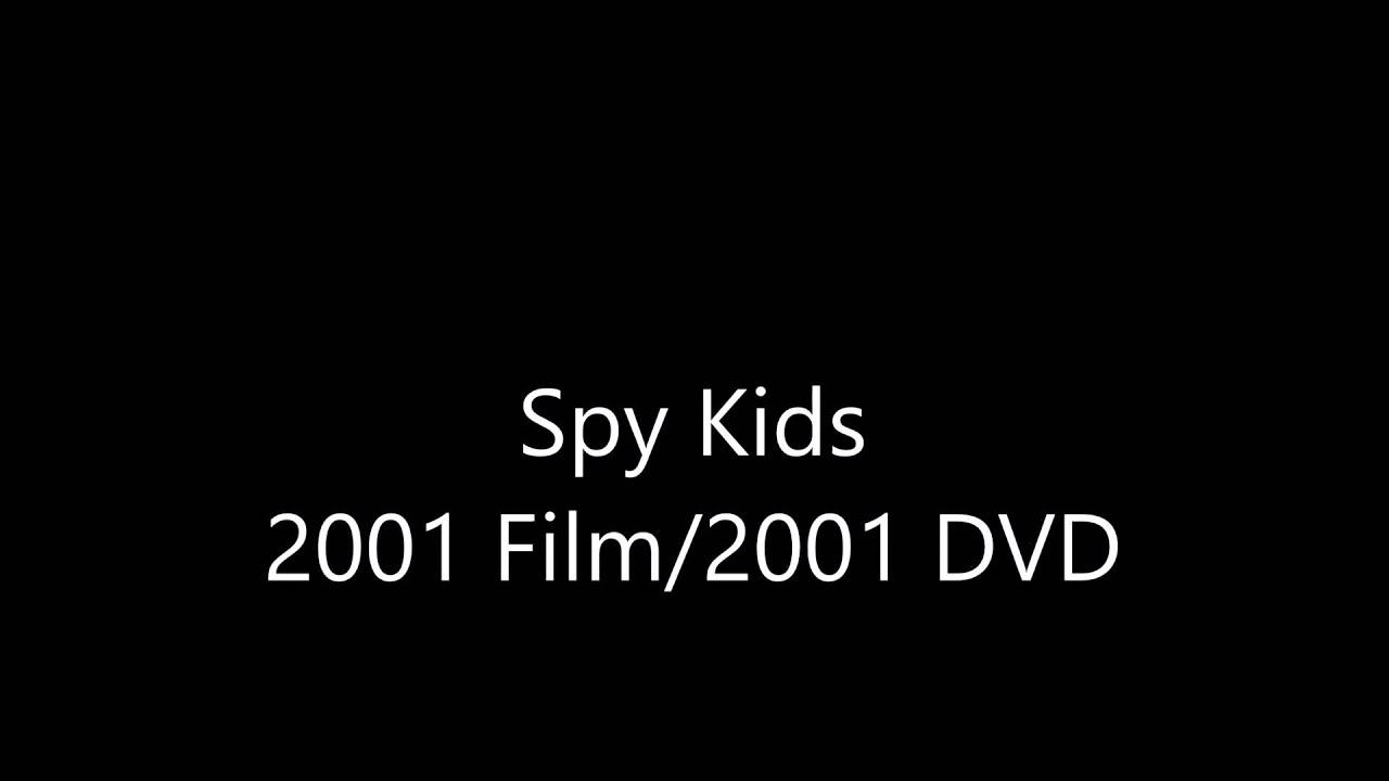 Download Spy Kids 2001 Film 2001 DVD