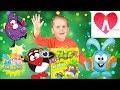 Развитие ребенка  Смешарики картина из песка  Видео для детей