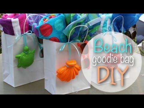 Beach Goodie Bags DIY