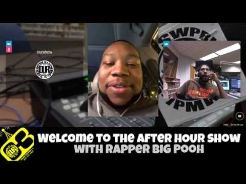 Rapper Big Pooh on after hOUR show - HIPHOP for People that kNOw BETTER!