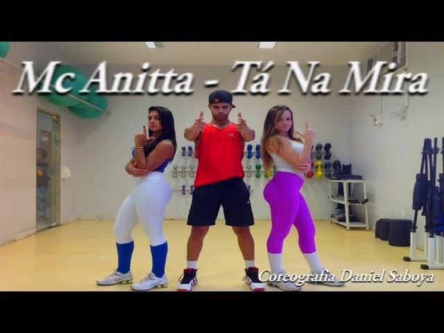Mc Anitta - Tá Na Mira Coreografia Daniel Saboya TRAVEL_VIDEO