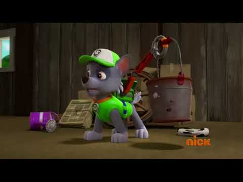 Paw Patrol - Pups Find a Genie - Rocky and Rubble