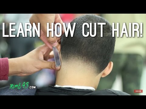 Haircut Tutorial All Even And Taper Out The Back