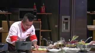 """Hướng dẫn nấu ăn món """"Bún mắm"""" - Đầu bếp Cẩm Thiên Long"""