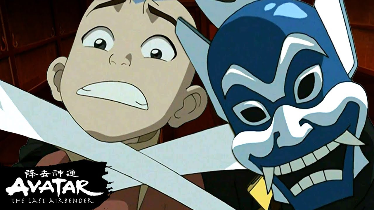 Download Aang and the Blue Spirit Escape the Fire Nation + Zhao! 🔥| Avatar