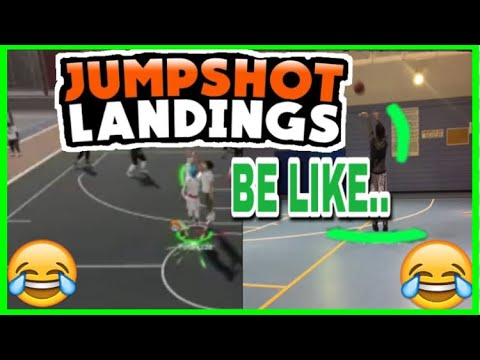 NBA 2K19 • JUMPSHOT LANDINGS BE LIKE🤣• HOW GREEN LIGHT ANIMATIONS LIKE IN REAL LIFE🔋