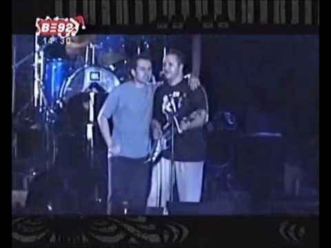 Exit Festval 2001 - Mlađan Dinkić i Božidar Đelić