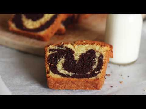 cake-marbré-chocola-/-vanille,-moelleux-et-délicieux