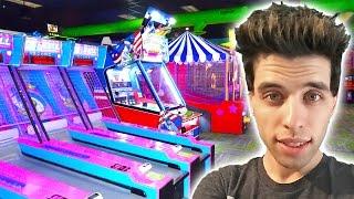 My New Favorite Arcade! Playing New Games Winning Arcade Tickets!