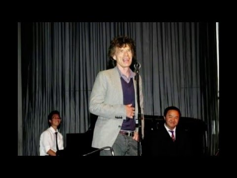 Mick Jagger visits his old school in Dartford [2010]