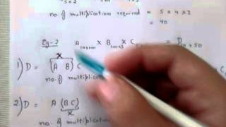 Matrix chain multiplication-1
