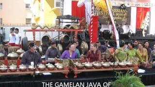 JAVA GAMELAN OF INDONESIA KJRI LA : Los Angeles CA U.S.A .(HD-K21)