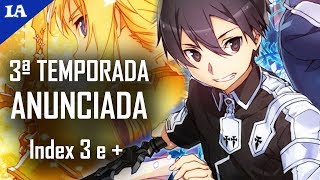 vuclip SWORD ART ONLINE 3 ANUNCIADO COM VISUAL, Index 3 em 2018 e +