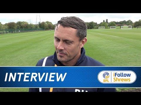 iNTERVIEW | Paul Hurst pre Blackburn TV