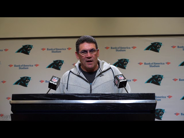 Ron Rivera Announces Kyle Allen As Starter For Week 8 And Talks Cam Newton's Progression