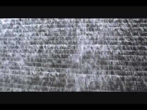 NYC Waterfall Lower Manhattan by South Street - Music by Anuna