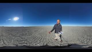 The site of the new European Extremely Large Telescope in Chile in 360