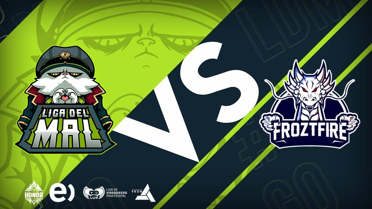 LIGA DEL MAL VS FROZTFIRE TEAM | Semana 9 Jornada 17 | Liga del Mal