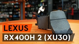 Montage LEXUS CT (ZWA1_) Bremsklötze: kostenloses Video