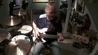 Boz Scaggs breakdown dead ahead bass cover - Jim Huwe