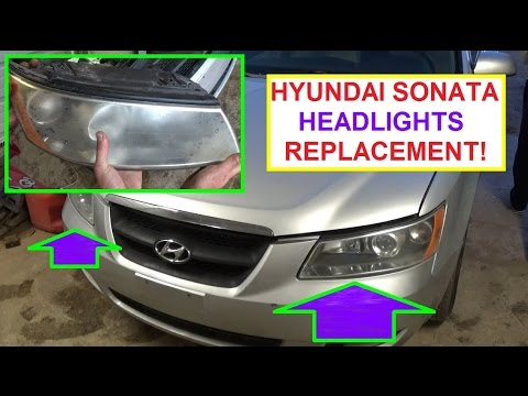 How to remove and replace left or right headlight on hyundai sonata how to remove and replace left or right headlight on hyundai sonata 2006 2007 2008 2009 2010 freerunsca Images