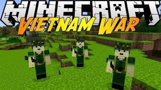Minecraft Mods: VIETNAM WAR MOD (1.7.10) - CHOOSE YOUR SIDE