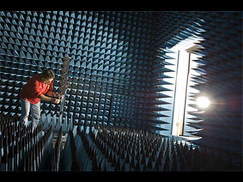 Anechoic Chamber - Communications Laboratory Facilities