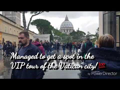 CABIN CREW   VATICAN CITY ROME   VLOG 1