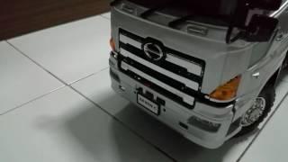 Hino 6x6 dump truck
