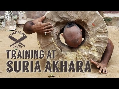 Indian Clubs | TRAINING at SURIA AKHARA