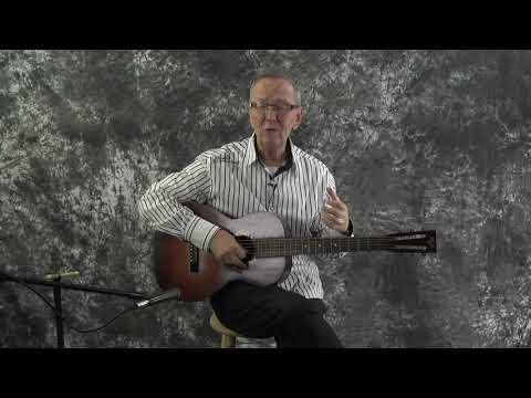 1930s May Bell Slingerland Parlor Guitar